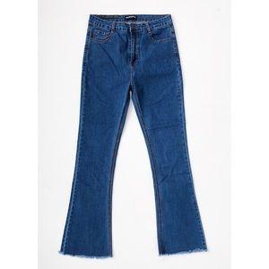 High-Waisted Flare Jeans *NWT*